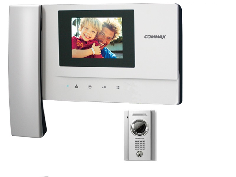 Comax intercom video colour