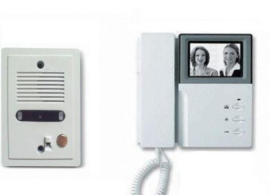 Comax intercom video black and white