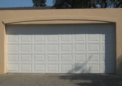 Double Steele Garage Door