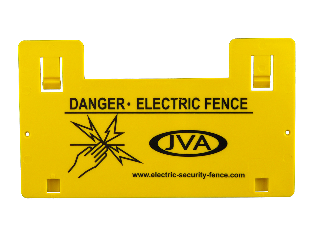 Electrical Fencing Warning sign