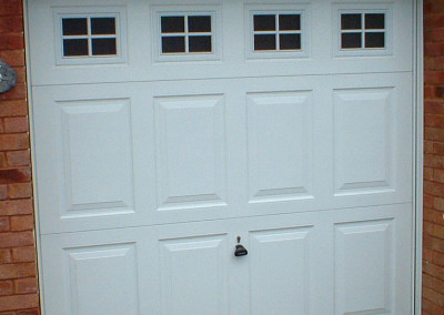 Single Steel Garage Door